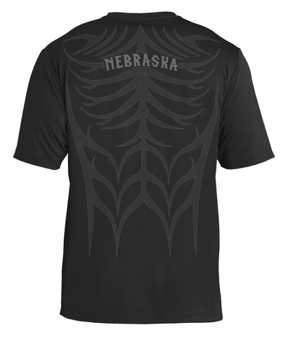 Men's Tribal Ultra-Performance Tee by RZR - Black - SS