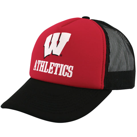 Wisconsin Athletics Mesh Snapback Hat