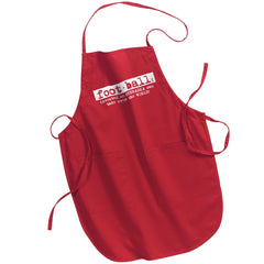 Football Definition Apron by RZR- Red