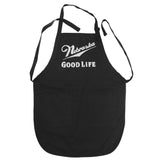 Nebraska Good Life Apron by RZR - Black