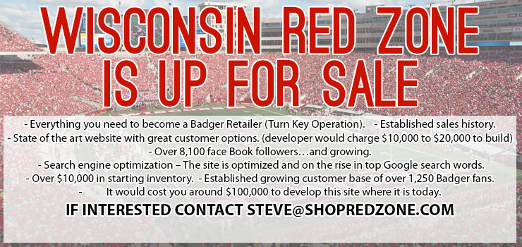 Wisconsin Red Zone is Up for Sale!