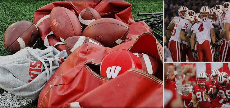 Wisconsin Badgers Adidas Sideline Apparel