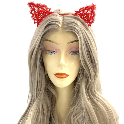 Red Lace Hairband
