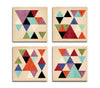 Tangent ( Set of 4 ) - The Modern Art Shop