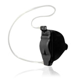 Simple Ear® Premium, hearing aid, in the ear hearing device, black, profile