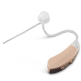 Simple Ear® Sleuth, hearing aid, behind the ear hearing device, beige, profile