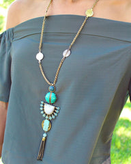 Lady Fringe Frenzy Necklace