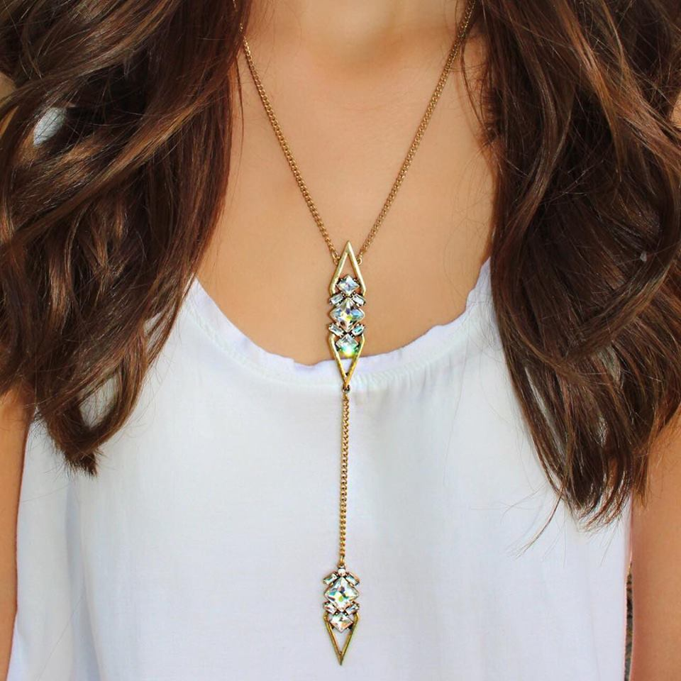 Y-Not Sparkle & Shine Necklace