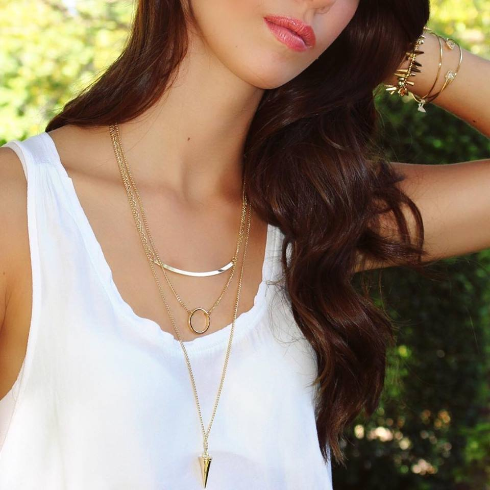 Charmed In Layers Necklace