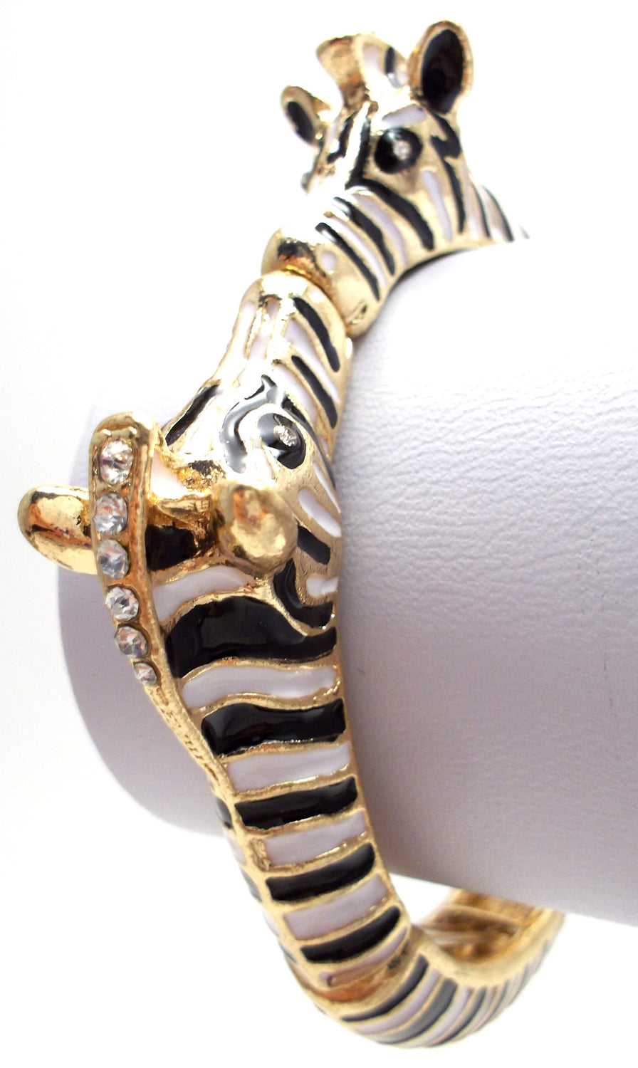 Double Zebra Stretch Bracelet