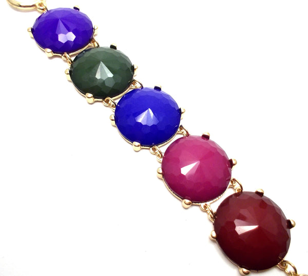 Colorful Jeweled Bracelet