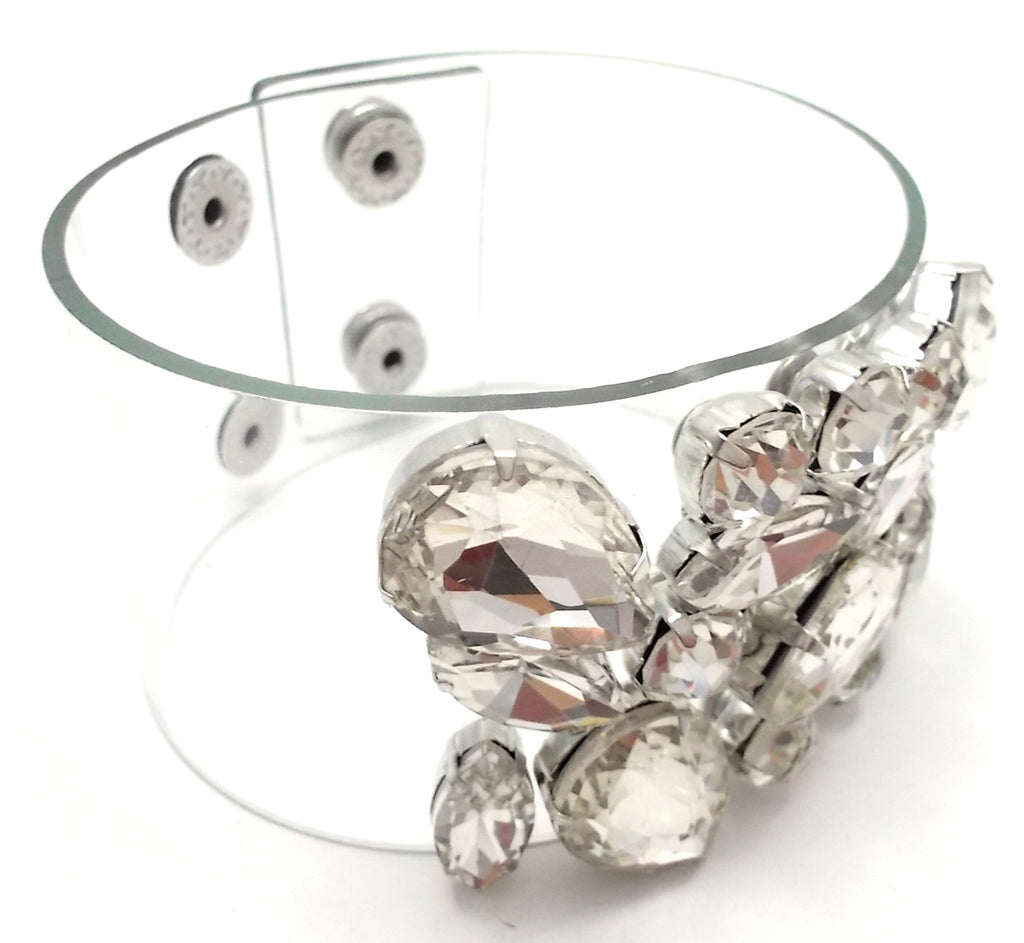 Crystal Clear Statement Bracelet