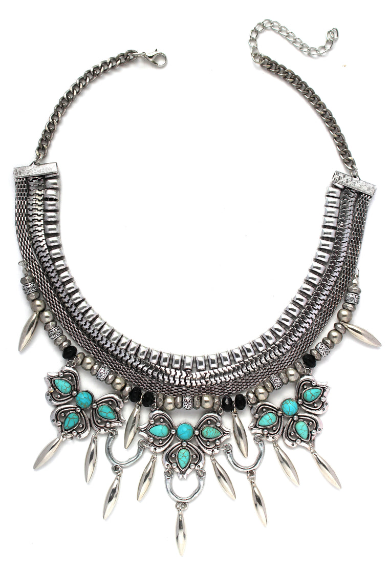 Alexia Layered Boho Necklace