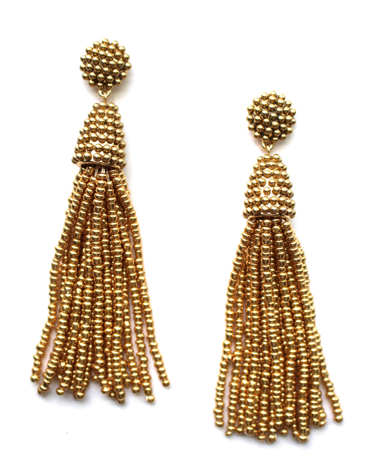 Goldie Jane Tassel Earrings