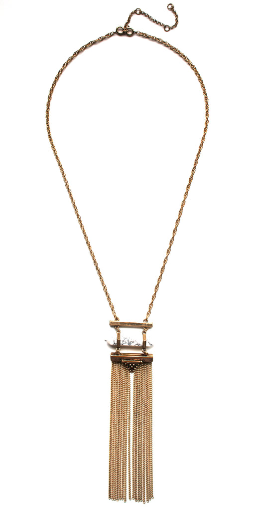 Tabitha Fringe Necklace