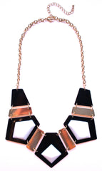 Modern Cleopatra Glamour Bib Statement Necklace