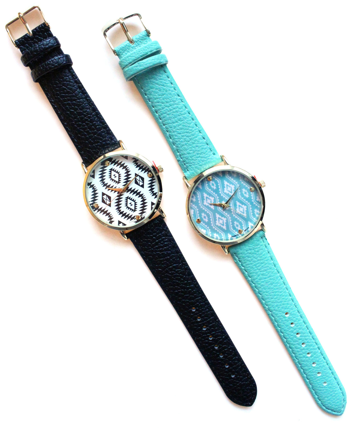 Leather Aztec Trendy Watches