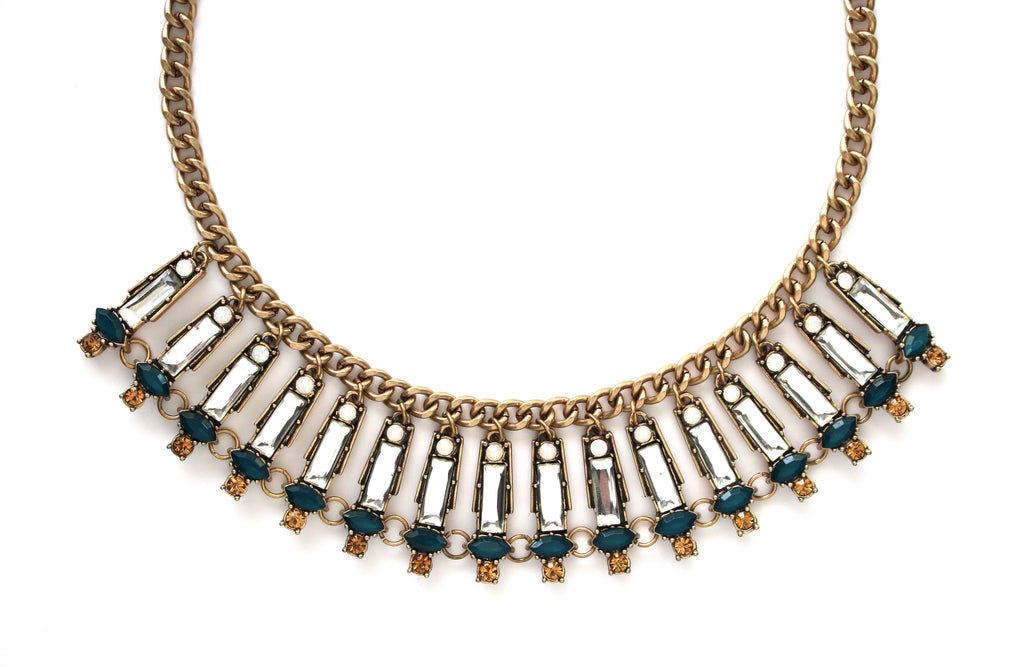 Marcella Shimmer Statement Necklace