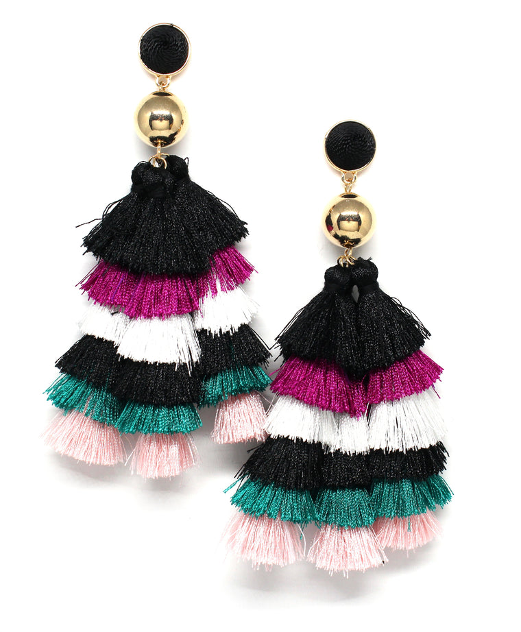 Lola Jane Tassel Earrings