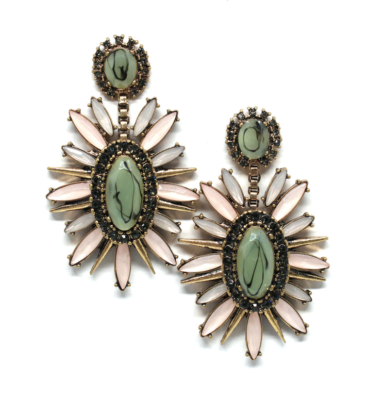 Charlotte Bloom Statement Earrings
