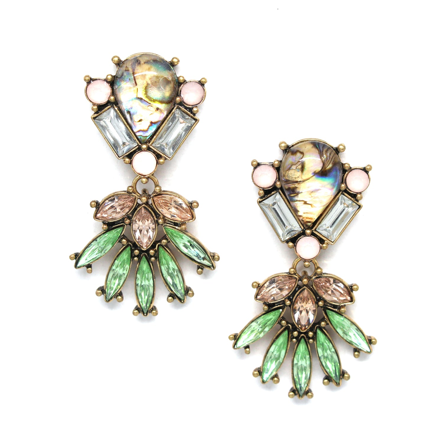 Majestic Ann Statement Earrings