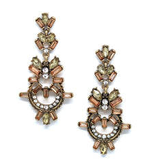 Evelyn Blush Earrings