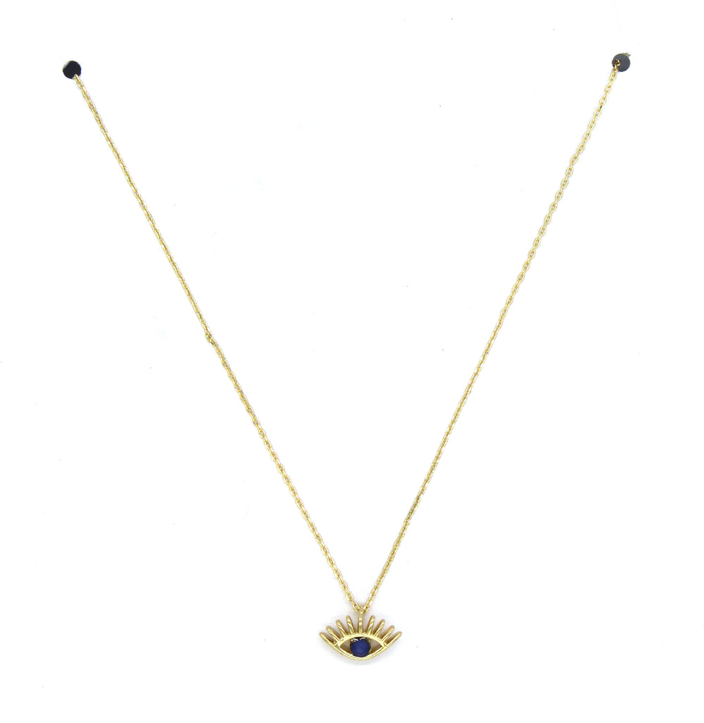 Ivy Pendant Necklace- Gold