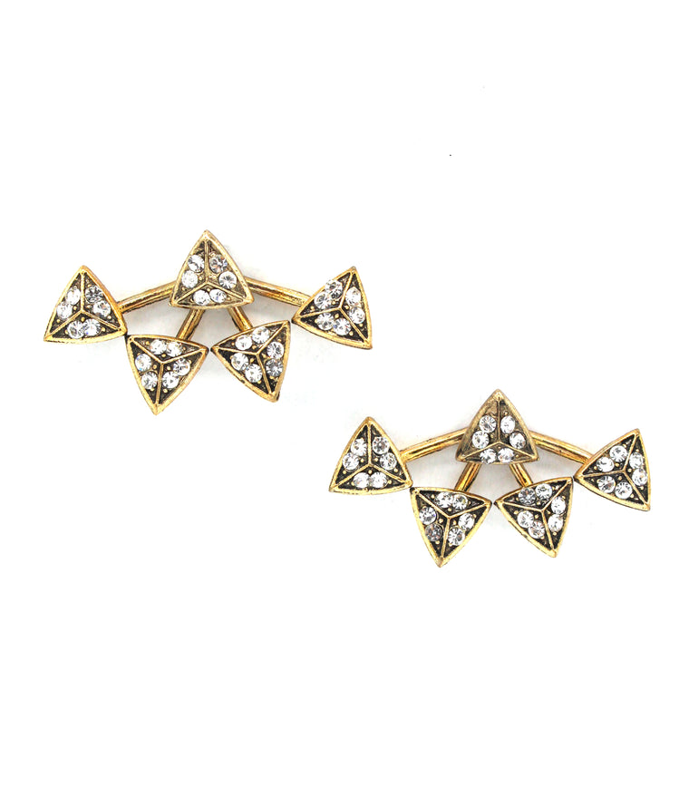 Zigi Pavé Ear Jacket Earrings