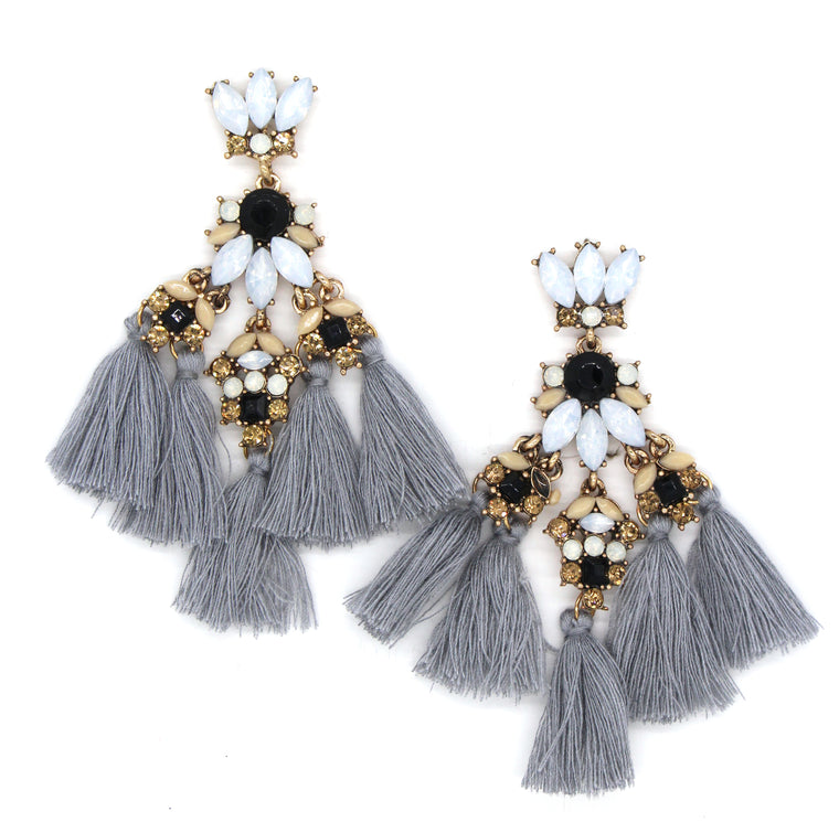 Gracie Fantasy Statement Earrings