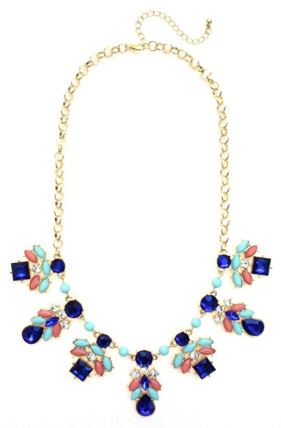 Bee Jeweled Necklace