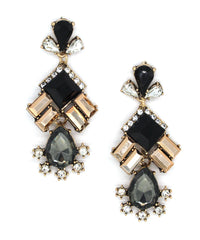 Gracie Shimmer Crystal Earrings