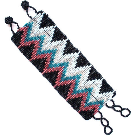 Beaded Chevron Bracelet