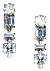 Luxe Crystal Shapes Earrings