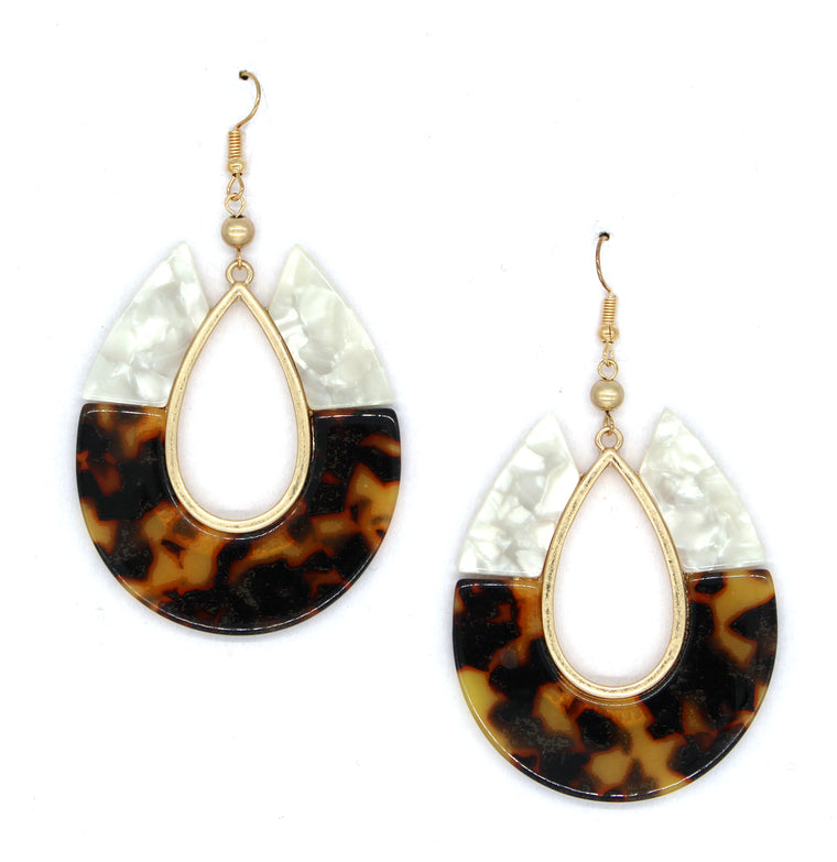 Claire Teardrop Dangle Earrings