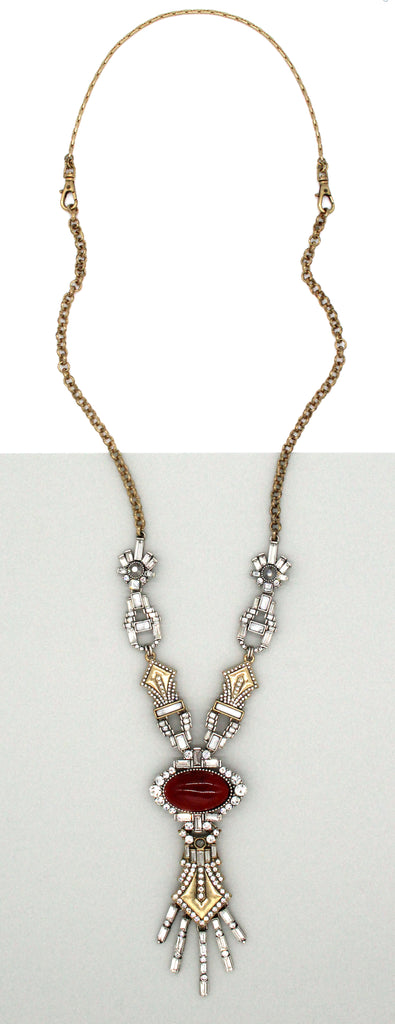 Abigail Crystal Embellished Necklace