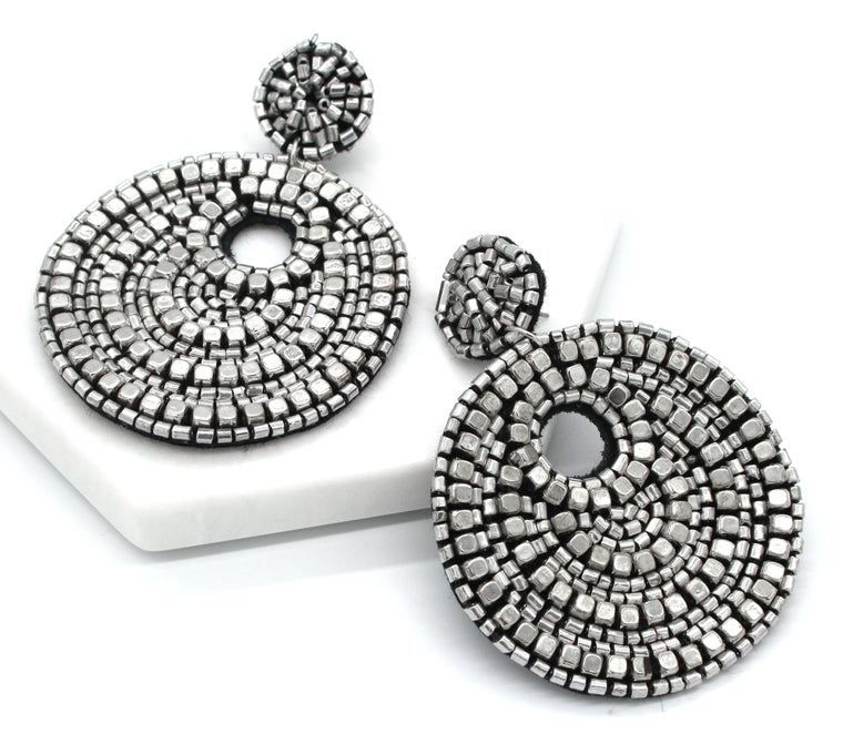 Layla Metallic Earrings