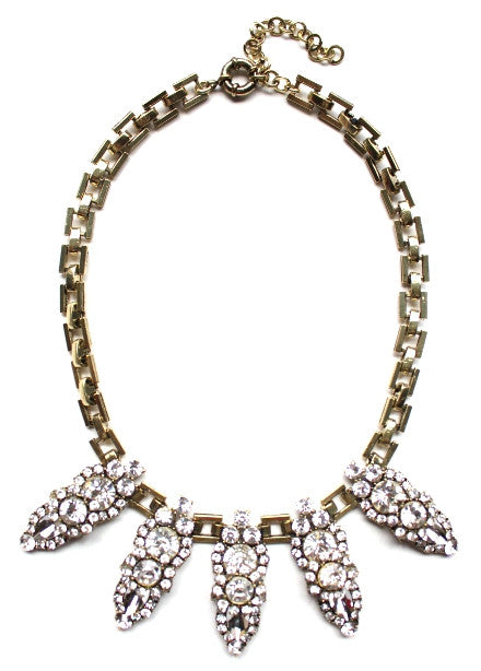 Luxe Crystal Points Necklace