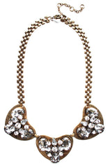 Crystal & Metal Necklace