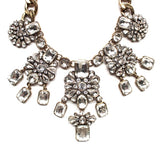 Luxe Frosty Drops Statement Necklace