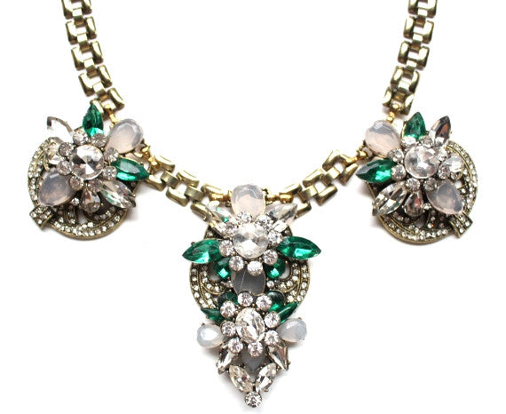 Pop The Crystal Statement Necklace