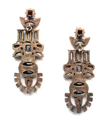Aztec Jewel Earrings