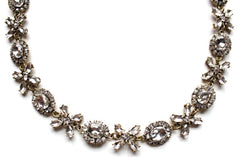 Crystal Floral Garland Necklace
