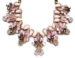 Shimmering Pastels Statement Necklace
