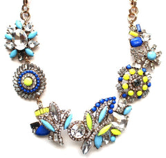 Shine Bright Floral Motif Necklace