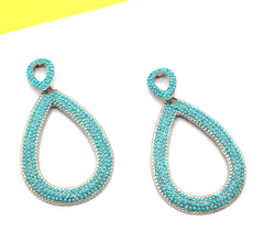 Azure Turquoise Earrings