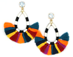 Charlotte Pop Tassel Earrings
