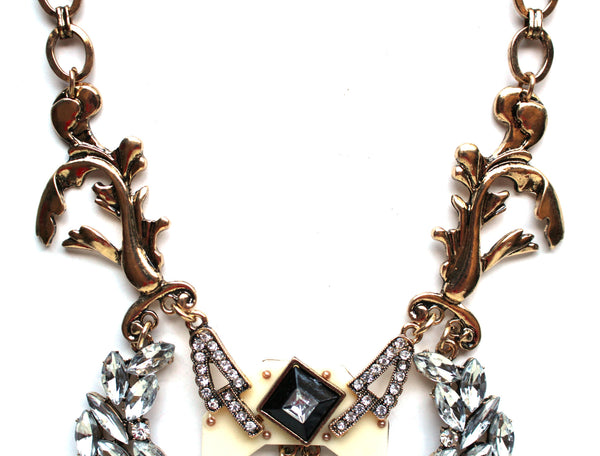Luxe Medieval Romance Statement Necklace