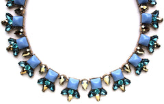 Luxe Crystal Spike Collar Necklace