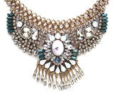 Boho Glory Crystal Stone Necklace