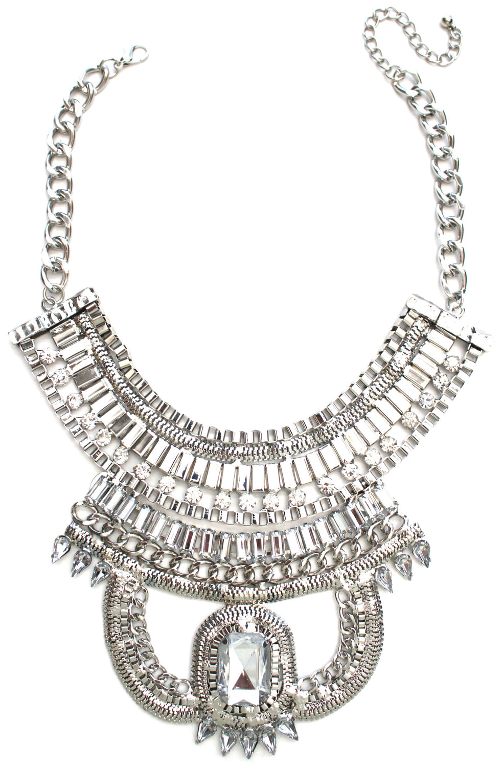 Grecian Warrior Bib Necklace